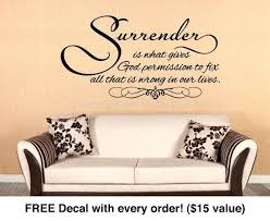 religious wall art religious wall quote surrender is code religious wall art stickers uk on scripture wall art uk with religious wall art religious wall quote surrender is code religious