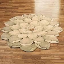 chenille bath rug unusual bathroom rugs melanie magnolia round flower unique shaped tivoli beautiful modern runner to expand posh luxury s183