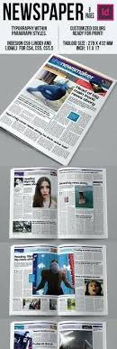 Custom Newspaper Template Newspapers Template Free Newspaper Pack For Word Perfect School
