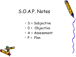 Subjective Objective Assessment Planning Note Simple Progress Notes