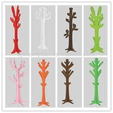 Tree Shaped Coat Rack New Design Mdf Diy Tree Shaped Coat Rack Stand Colorful Wall Coat 27