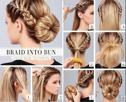 Sock Bun Hair Style 5 super chic bun hairstyle tutorials trend crown 7159 by wearticles.com