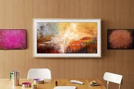 creative tvs with rollable screens art