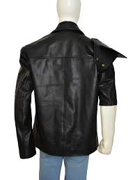 Movie Mad Max 2 Mel Gibson Black Combatant Jacket Ideal Jackets