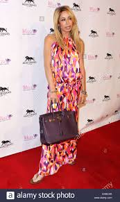 Blizz Yogurt Faye Resnick Real Housewives Of Beverly Hills At Grand Opening Of