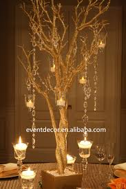 gold wedding tree branches for decorations gilding tree centerpieces