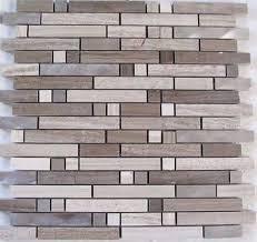 linear tile white