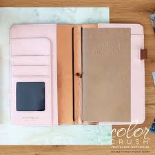 Websters Pages Color Crush Travelers Notebook And Planner In