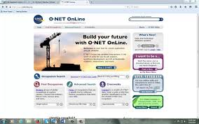 onet web site for resume building onet web site for resume building