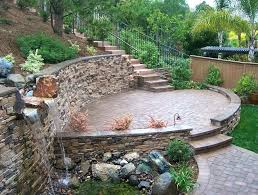 how to build stone patio a raised flagstone installing ideas diy paver cost per square foot