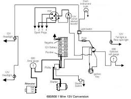 ford electrical conversion schematic ford 851 electrical conversion schematic 600 800 1 wire jpg