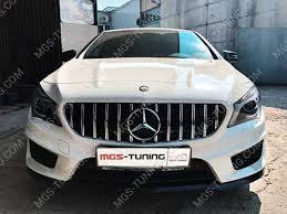 "<b>Решетка радиатора</b> ""<b>GT</b>"" Mercedes CLA | MGS-тюнинг"