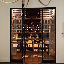 custom wood wine racks w massive storage in preston hollow cellar dallas tx