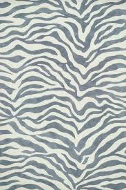 black and white zebra rug hide gray area