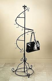 Coat And Bag Rack Amazon Spiral Purse Tree Retail Rack Display Pointed Top 16