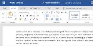 Mirco Soft Word How To Create Edit And View Microsoft Word Documents For Free