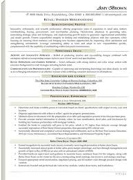 Retail Resume Examples Extraordinary Retail Resume Examples Resume Professional Writers