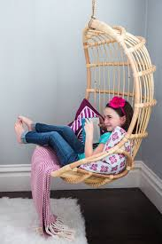 Hanging Swing Chairs For Bedrooms How To Pick Hanging Chair For Kids Bedroom