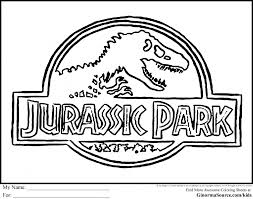 Small Picture Free Printable Jurassic Park Coloring Pages Coloring Home