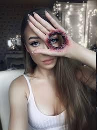 Awesome I Transform Myself With Halloween Makeup