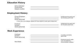 Resume Template Fill In Fascinating Free Fill In Resumes Printable Resume Templates Template 28 Blank 28