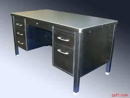 steel office desk. Office Desk Metal Vintage Best For Home Steel K