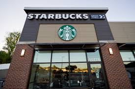 starbucks store exterior. Perfect Starbucks Exterior Of The Ferguson Starbucks Location On April 28 2016 In Ferguson  Missouri In Store O