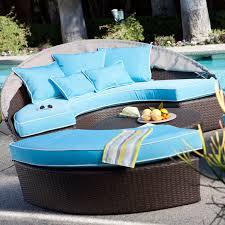 outdoor wicker daybed. Fine Outdoor Belham Living Rendezvous AllWeather Wicker Sectional Daybed  Walmartcom Intended Outdoor I