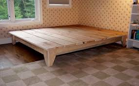 wood platform bed frame full pictures including beautiful with storage diy beds for 2018