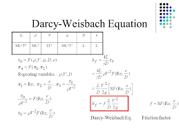 reynolds number equation. darcy-weisbach equation reynolds number