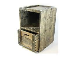 wood crate furniture. Wood Crate Furniture Side Table Wooden End By BridgewoodPlace