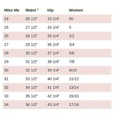 Miss Me Jeans Size Chart I Just Wanted To Put This Up For