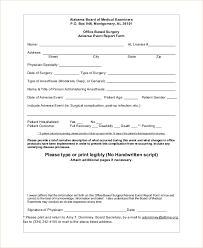 adverse event reporting form sample adverse event forms 8 free documents in word pdf