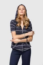 <b>Блузка Helmidge</b>, белый, темно-синий 48 размер — купить в ...