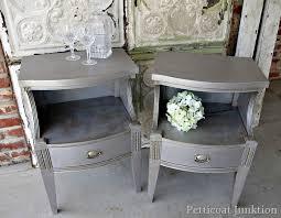 diy metallic furniture. Ingenious Metallic Furniture Paint Finishes For Petticoat Junktion Diy