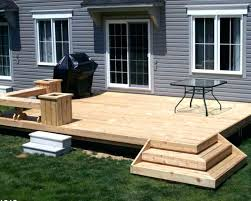 Small Deck Designs Backyard