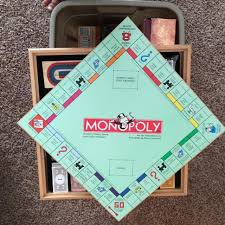 Wooden Monopoly Board Game Best Wooden Monopoly Clue Board Games 100 Classic Games for sale 96