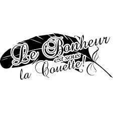 Stickers Citation Bonheur Pas Cher