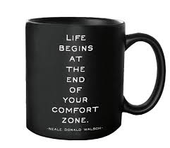Quotable Life Begins Quotable Mug Quotes Kitchen Home Mug G226 Quote