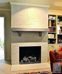 brick fireplace surround redo brick fireplace redo brick fireplace surround best image remodel brick fireplace ideas