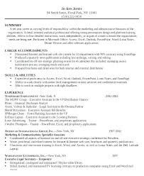Admin Objective For Resume Admin Assistant Resume Legal Ive
