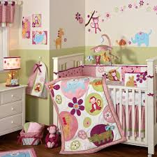 Bedroom:Futuristic Vintage Color Baby Girl Room Themes Idea Fun Vintage  Animation Baby Room Bedding
