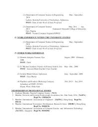 resume for computer science resume sample resumes with no work experience high school student
