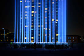 9 11 Lights Live Photos Up Close Look At The World Trade Centers 9 11