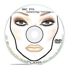 1800 makeup face charts mac pro cosmetics manual training dvd cd b51