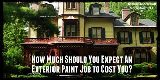exterior house painting new jersey. how much to expect pay paint the exterior of your nj home house painting new jersey