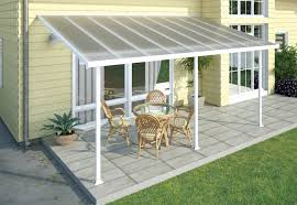 modern aluminum patio cover kits