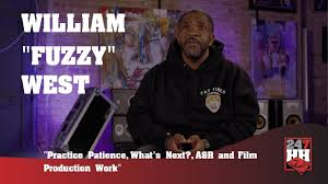 "William ""Fuzzy"" West - Practice Patience, What's Next?, A&R and Film  Production Work (247HH EXCL) - YouTube"