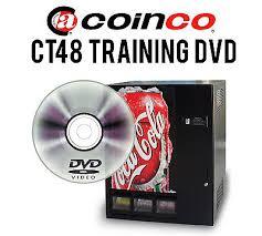 Fsi Vending Machine Manual Custom COINCO CT48 DRINK Vendor Training DVD Includes PDF Manual