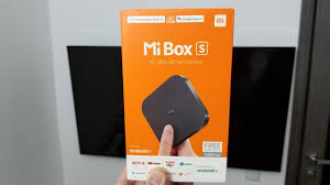 Xiaomi Mi TV <b>Box S</b> 4K HDR, Android TV 8.1, <b>Global Version</b> ...